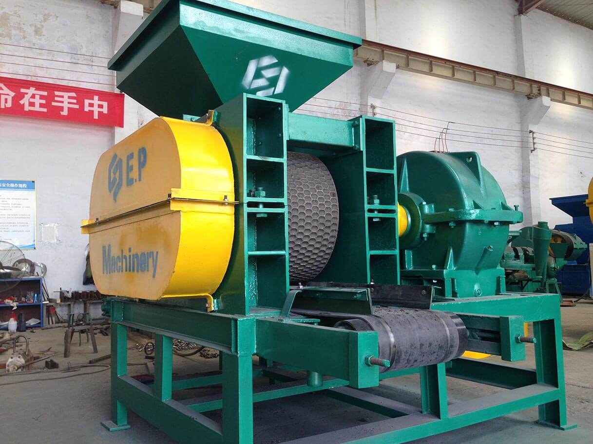 carbon black briquette machine for our Malaysia client